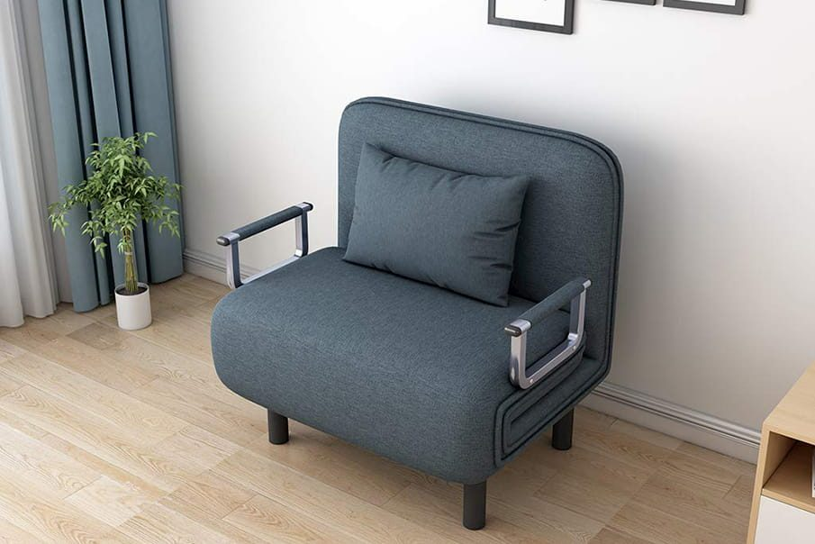 Studio apartment bed option: Chair Sleeper