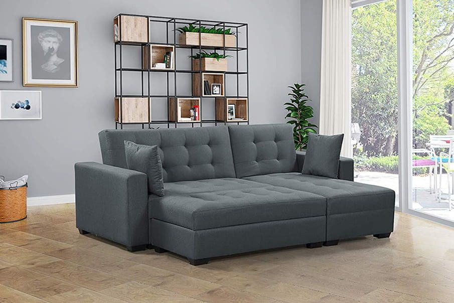 Studio apartment bed option: Sectional Sleeper Sofa